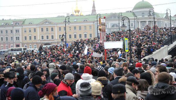 Митинг За честные выборы на Болотной площади. Архив