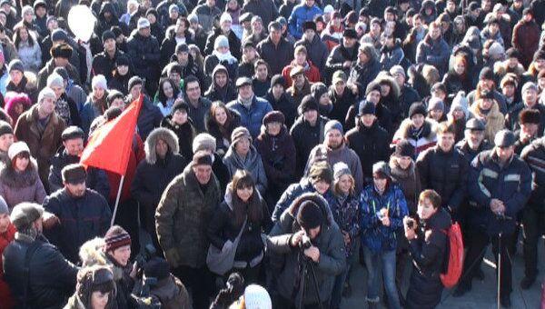 От Владивостока до Калининграда: акции протеста 10 декабря в России