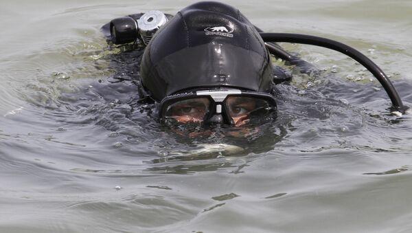 Водолаз-спасатель. Архивное фото