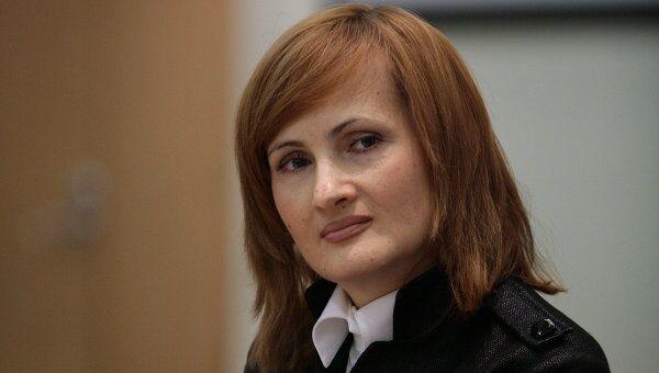 Председатель Комитета ГД по безопасности и противодействию коррупции Ирина Ярова. Архив
