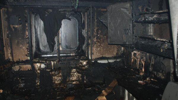 Последствия пожара на атомном ледоколе Вайгач