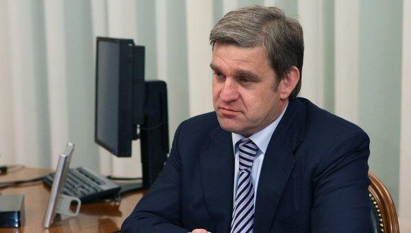 Премьер-министр РФ Владимир Путин провел встречу с Сергеем Дарькиным