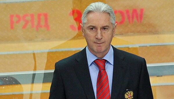Главный тренер российской сборной Зинэтула Билялетдинов