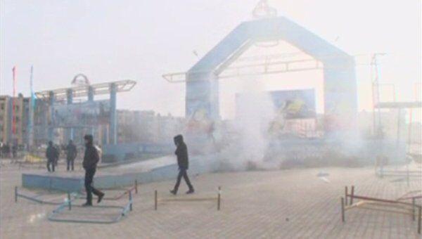 Ситуация в городе Жанаозен, Казахстан