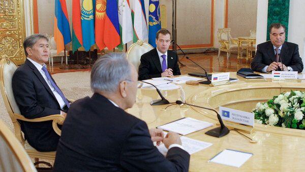 Саммит глав государств ОДКБ в Кремле