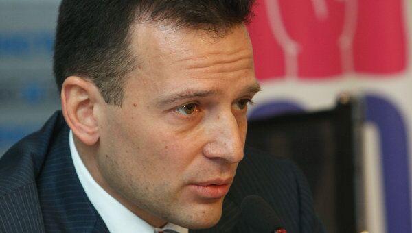 Руководитель федерального агентства по делам молодежи Василий Якеменко. Архив