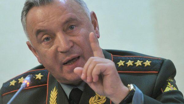 Начальник Генерального штаба ВС РФ генерал армии Николай Макаров