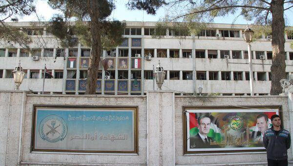 Ситуация в Дамаске после взрывов