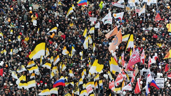 Митинг оппозиции За честные выборы в Москве. Архив