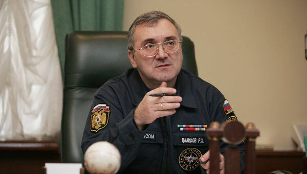 Первый заместитель министра МЧС России Руслан Цаликов