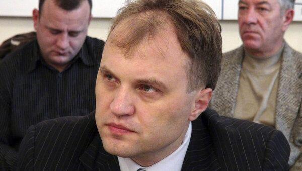 Спикер парламента, лидера движения Возрождения Приднестровья Евгений Шевчук