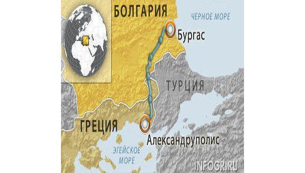 Болгария не будет оплачивать РФ затраты по Бургасу-Александруполису