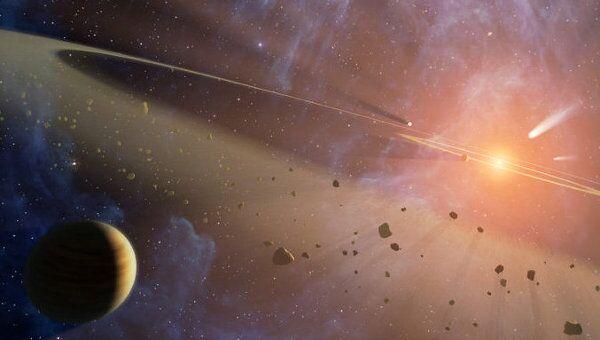 Астрономы обнаружили два пояса астероидов в ближайшей звездной системе