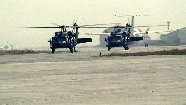 Вертолеты ISAF. Архивное фото