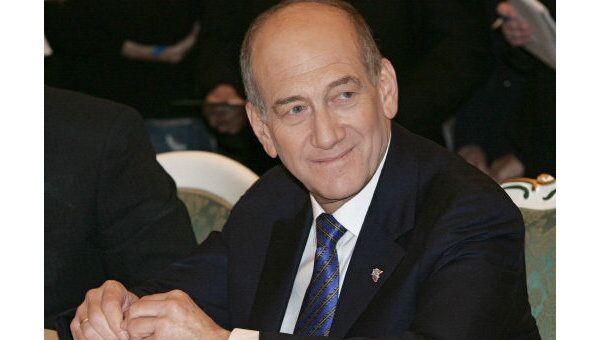 Премьер-министр Израиля Эхуд Ольмерт