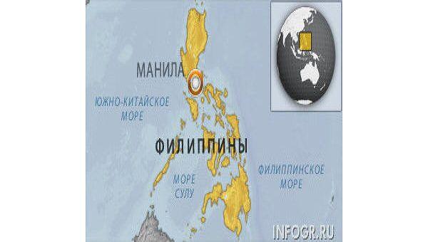 Семь человек пострадали при падении военного вертолета на Филиппинах