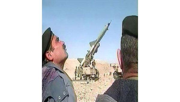 Испытания ракеты в Иране. Архив