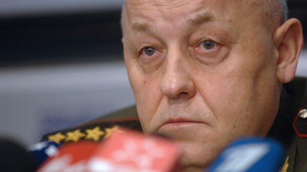 Начальник Генштаба Вооруженных сил РФ, генерал армии Юрий Балуевский
