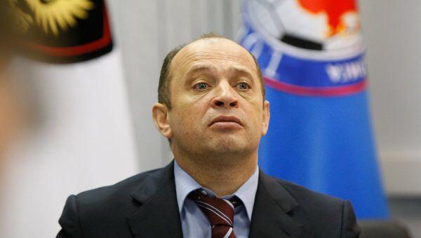 Президент Российской футбольной премьер-лиги (РФПЛ) Сергей Прядкин