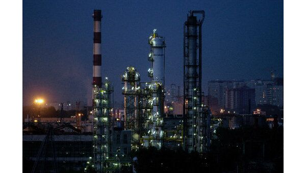 Московский нефтеперерабатывающий завод, архивное фото