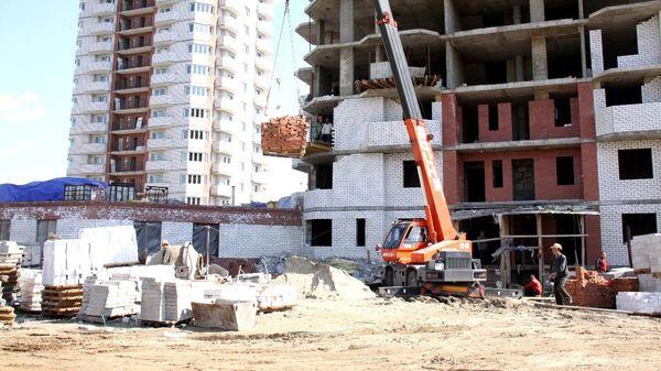 Недостроенные дома фирмы-банкрота Россия