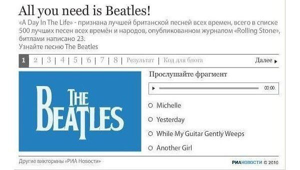 All you need is Beatles!