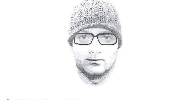 Фоторобот подозреваемого в нападении на Александра Боровкова