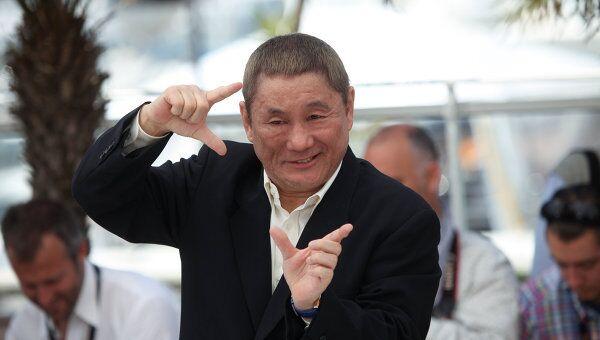 Японский режисер и актер Такеши Китано