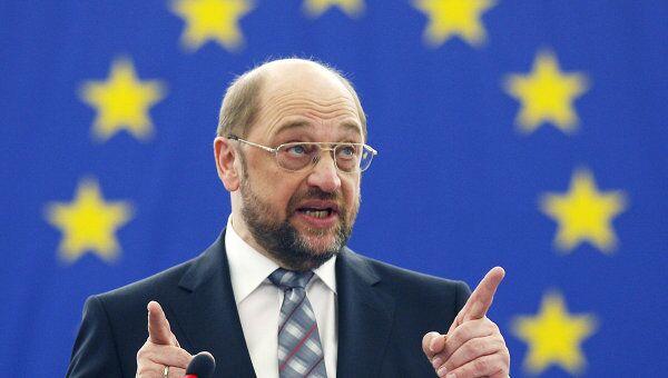 Председатель Европейского парламента Мартин Шульц. Архивное фото