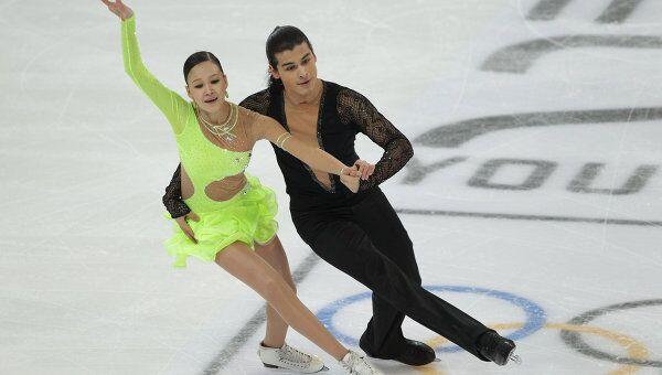 Казахстанские фигуристы Карина Узурова и Ильяс Али