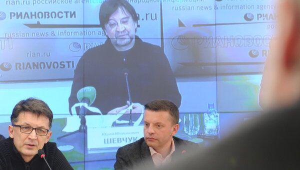 Пресс-конференция, посвященная созданию Лиги избирателей в Москве