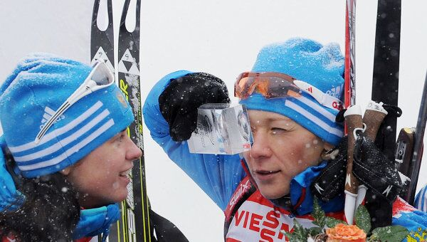 Светлана Слепцова и Ольга Зайцева (слева направо)