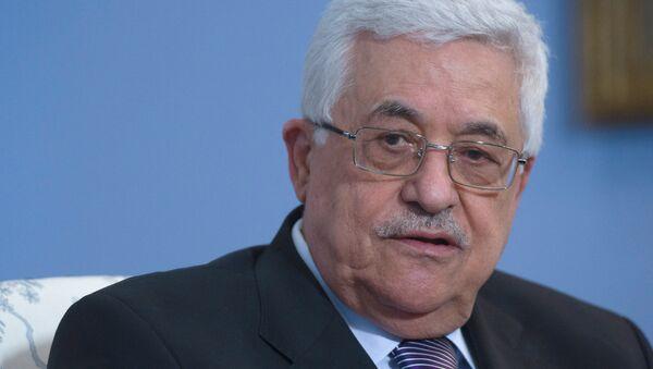 Глава Палестинской национальной администрации Махмуд Аббас. Архивное фото