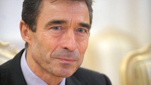 Генсек НАТО оценивает свой визит в Москву на четверку
