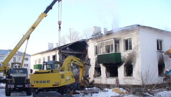 Взрыв газа в жилом доме в Башкирии