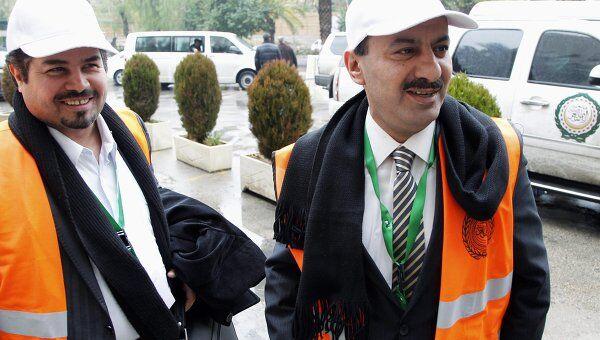 Наблюдатели ЛАГ в Дамаске