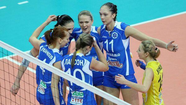 Игроки казанского Динамо