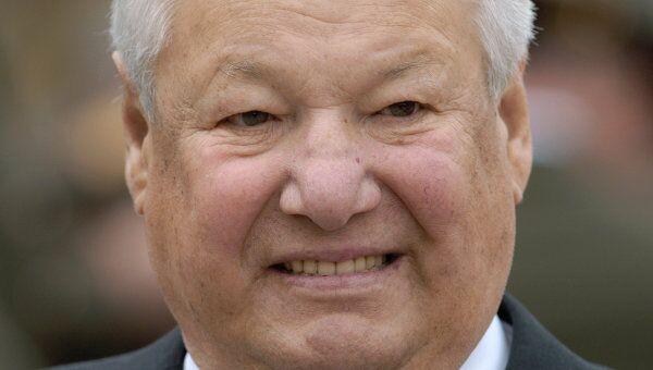 Первый президент России Борис Ельцин. Архив