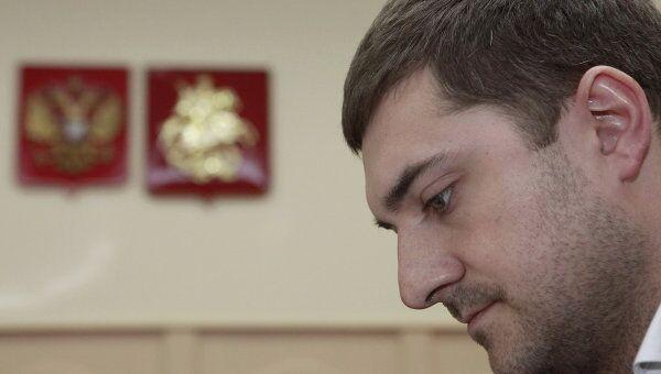 Следователь СКП Григорий Домовец в Басманном суде Москвы. Архив
