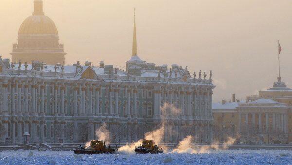 Зима в Санкт-Петербурге. Архив