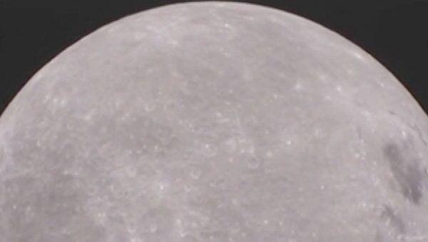 Видеокамера MoonKAM сняла поверхность обратной стороны Луны