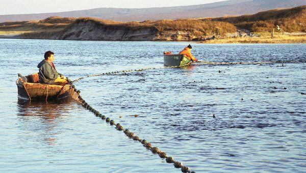 Лов рыбы на Дальнем Востоке. Архивное фото