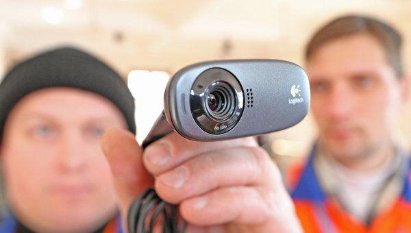 Установка веб-камер на избирательном участке