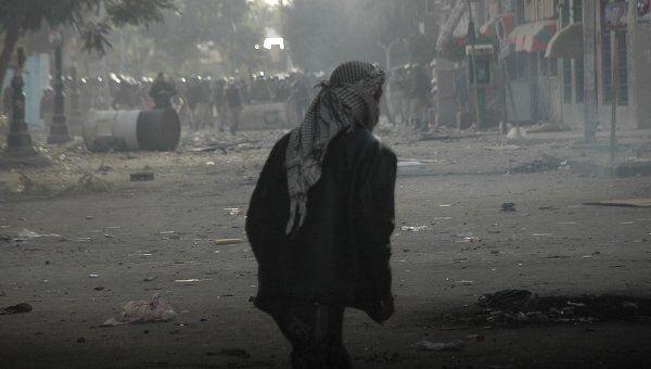 Демонстрация в Суэце, Египет