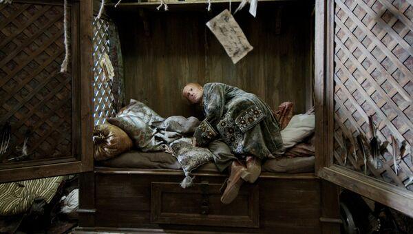 Кадр из фильма Фауст Александра Сокурова
