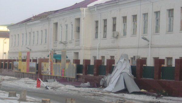 Последствия урагана в Новороссийске