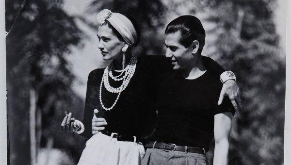 Серж Лифарь и Коко Шанель. Архив