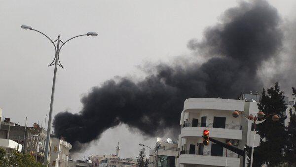 В окрестностях сирийского города Хомс