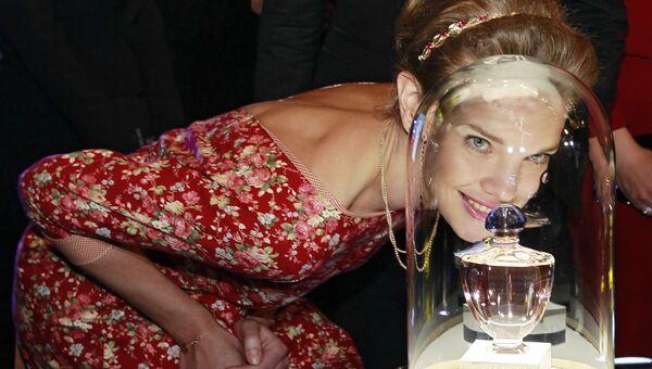 Модель Наталья Водянова на благотворительном аукционе Сердечный прием фонда Обнаженные Сердца в Концертном зале Барвиха Luxury Village