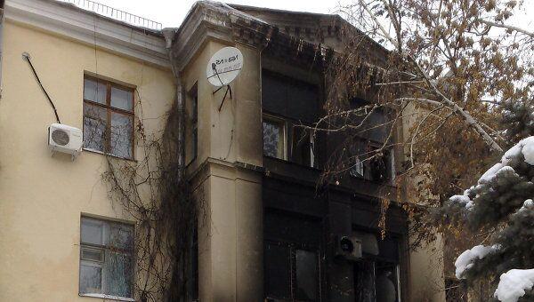 Взрыв и пожар в кафе Белладжио в Волгограде